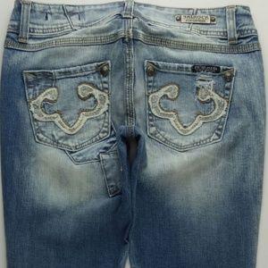 ReRock For Express Boot Cut Jeans Women's 4 A125